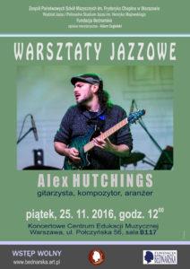 Alex Hutchings - warsztaty