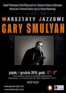 Gary Smulyan - afisz